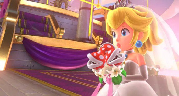 Super Mario Odyssey, Princess Peach