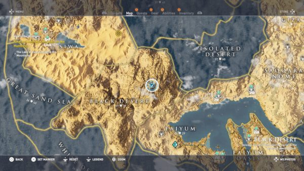 Assassin's creed map