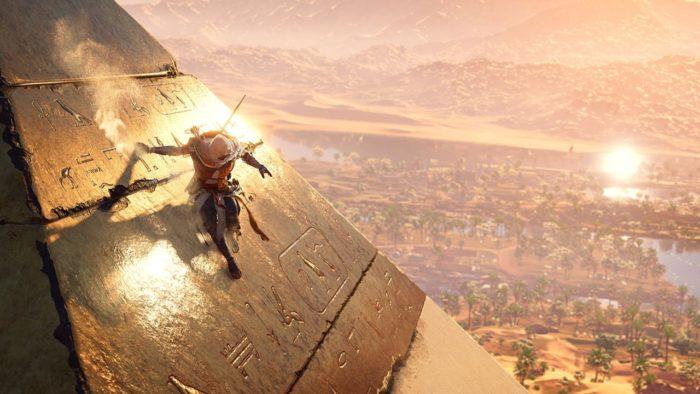 assassin's creed origins pyramid