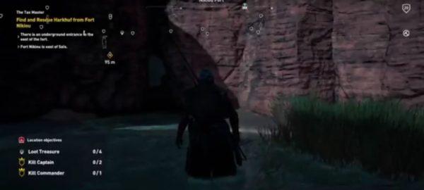 fort nikiou, assassin's creed origins