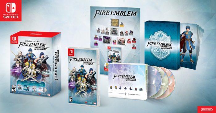 fire emblem warriors special edition
