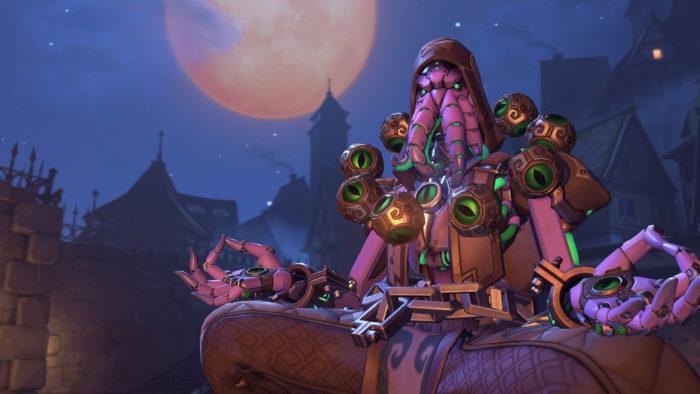 overwatch, halloween terror, zenyatta