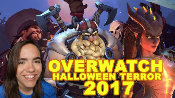 overwatch halloween terror 2017 gameplay