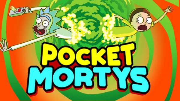 pocket mortys, rick and morty, iOS
