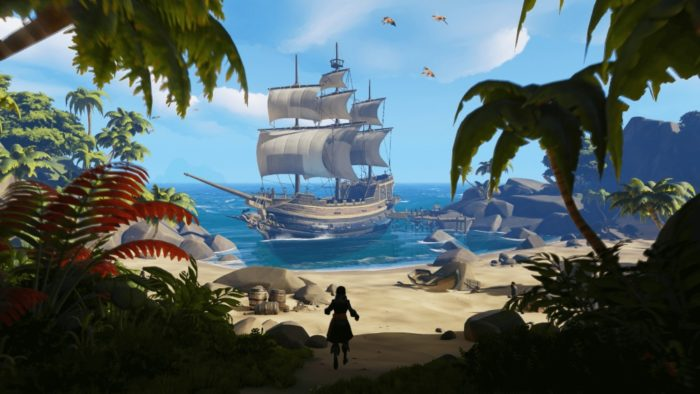 sea of thieves, xbox one, march 2018