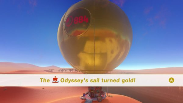 Super Mario Odyssey What Happens When You Get 100 Completion