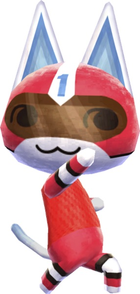 Animal Crossing Kid Cat