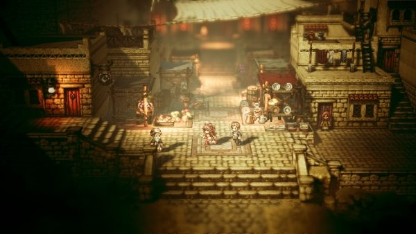 octopath traveler, nintendo, switch