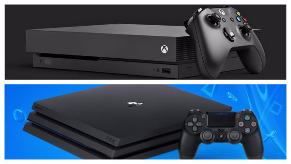 xbox one ps4 pro