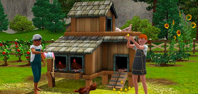 the sims country life