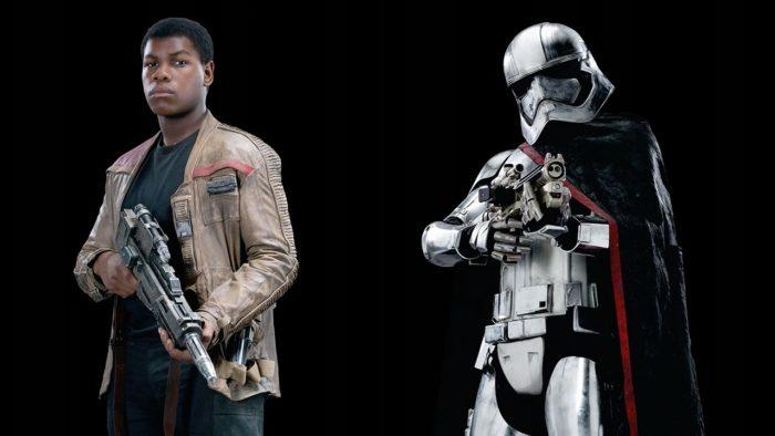Star Wars Battlefront ii finn and phasma