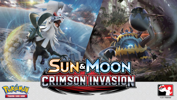 pokemon pokémon sun moon crimson invasion tcg