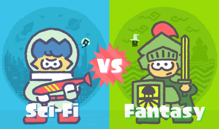Splatoon 2's upcoming US Splatfest places sci-fi against fantasy