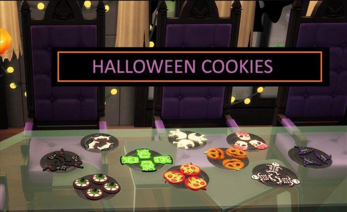 cookies halloween sims 4