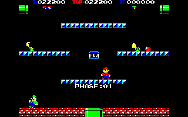 Punch Ball Mario Bros