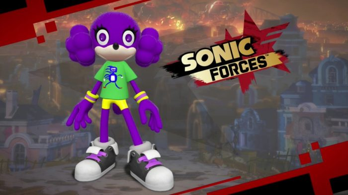 sanic sonic forces