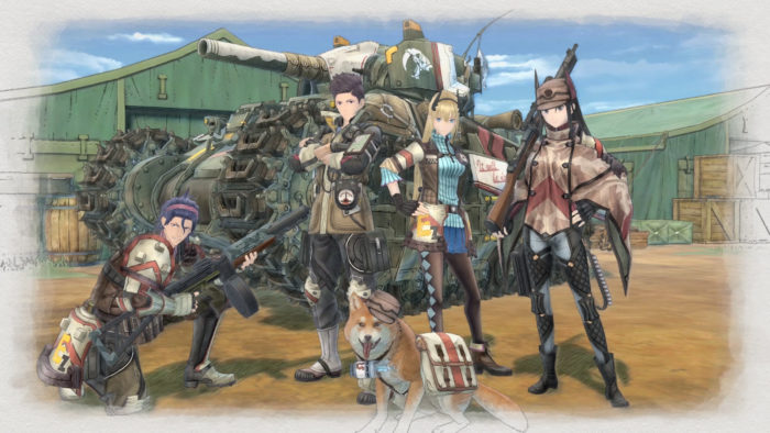 valkyria chronicles 4, voice actors, voice cast, voices, characters,