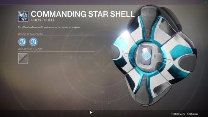 Commanding star shell
