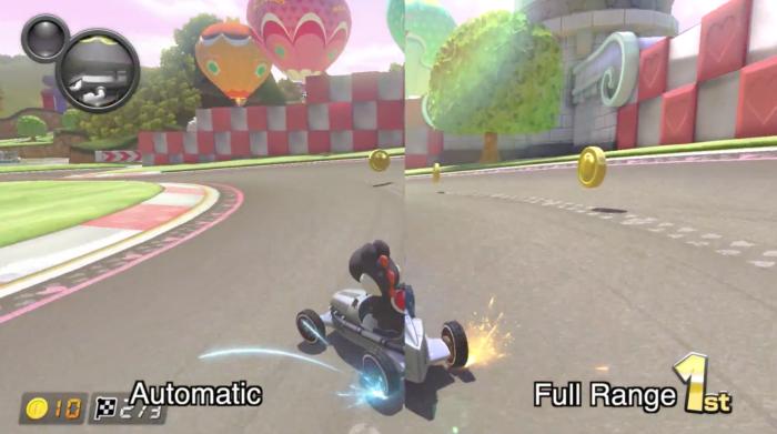 Mario Kart graphics