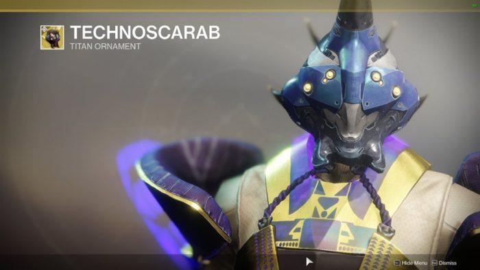 Technoscarab destiny 2