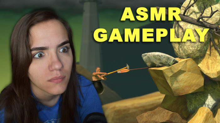 asmr getting over it gameplay game