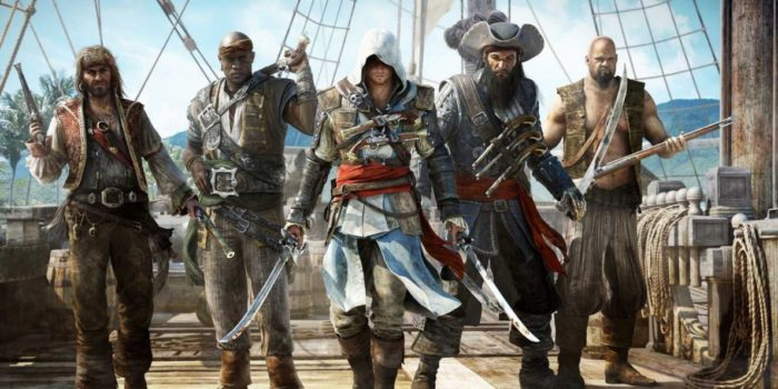 Assassin's Creed IV: Black Flag dudes!