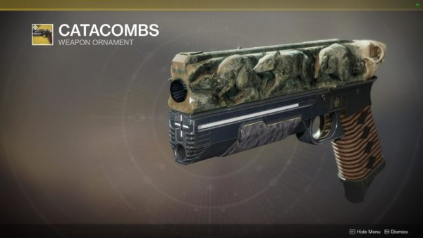 catacombs destiny 2 ornament