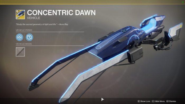 concentric dawn