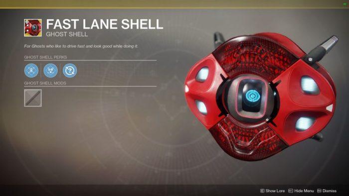 fast lane shell