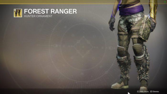 forest ranger hunter