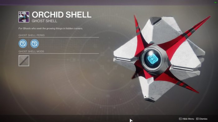 orchid shell
