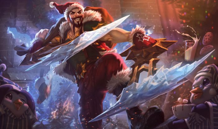 League of Legends Snowdown