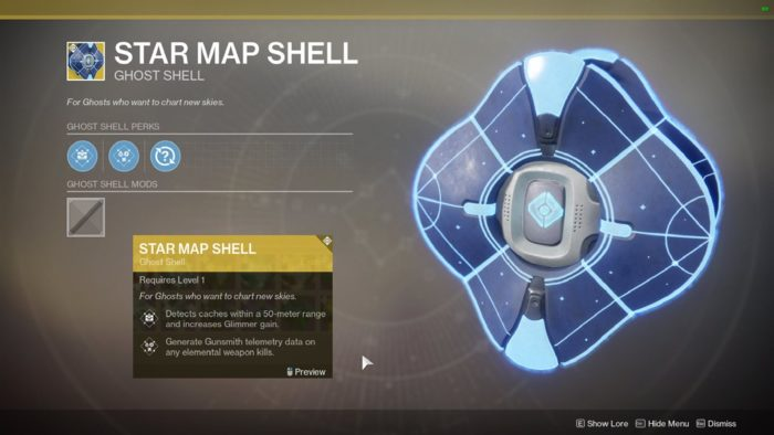 star map shell