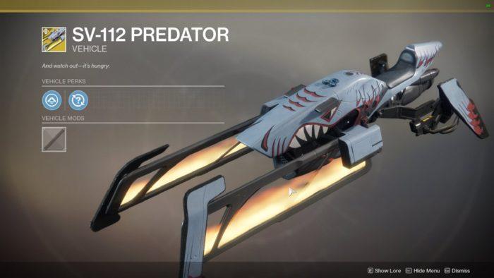 sv-112 predator