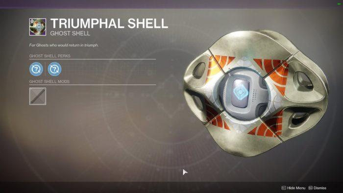 triumphal shell