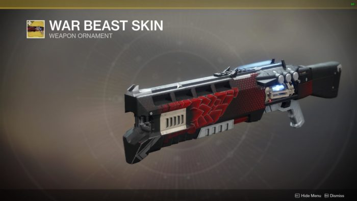 war beast skin