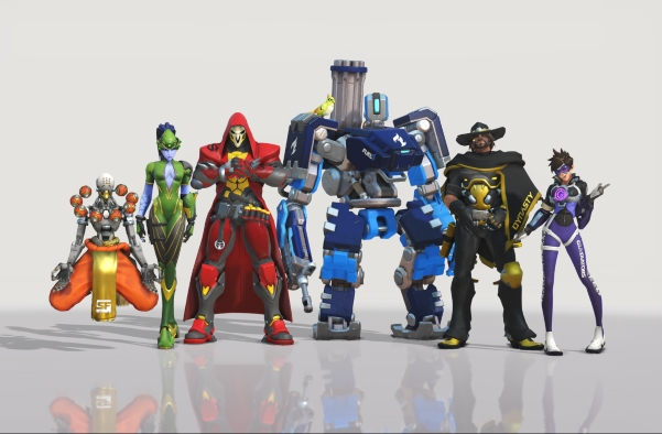 Overwatch, Overwatch League, Overwatch Team Skins