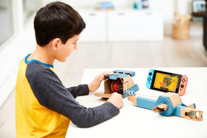 Nintendo Labo Toy Con Fishing Rod