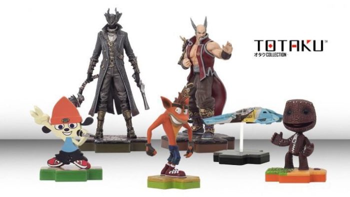 playstation figures totaku collection