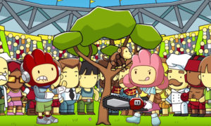 Scribblenauts Showdown, switch, ps4, xbox one