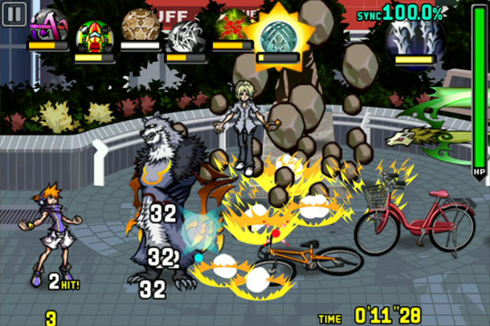 TWEWY's hectic combat made the touchscreen a bit much at times.