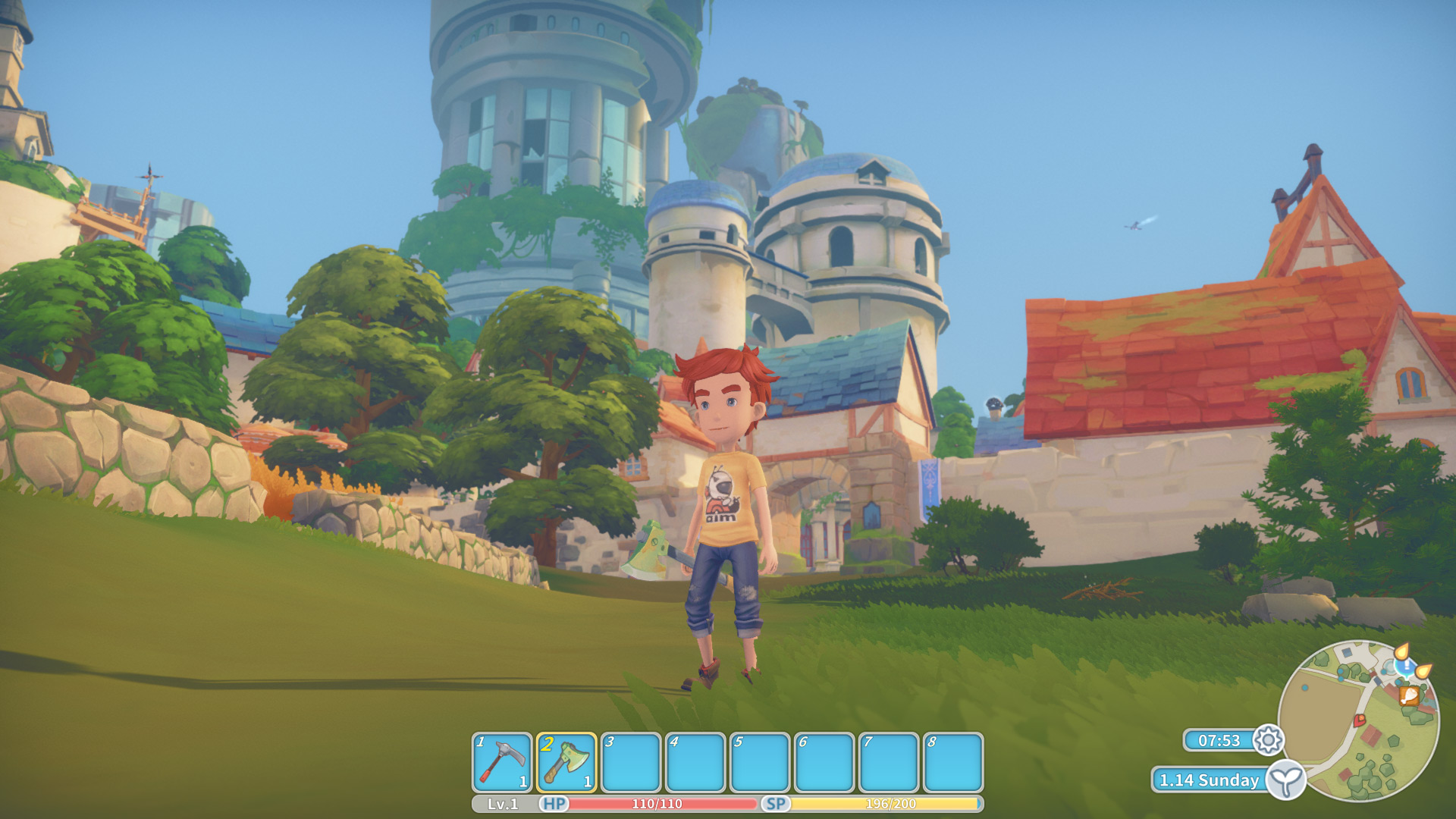 My Time at Portia, how to get a sprinkler