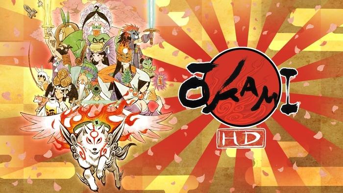 okami hd, microsoft, xbox one, anime