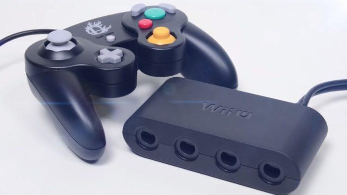 gamecube controller, adapter, wii u, switch