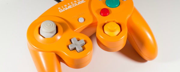 nintendo, gamecube controller, spice, orange