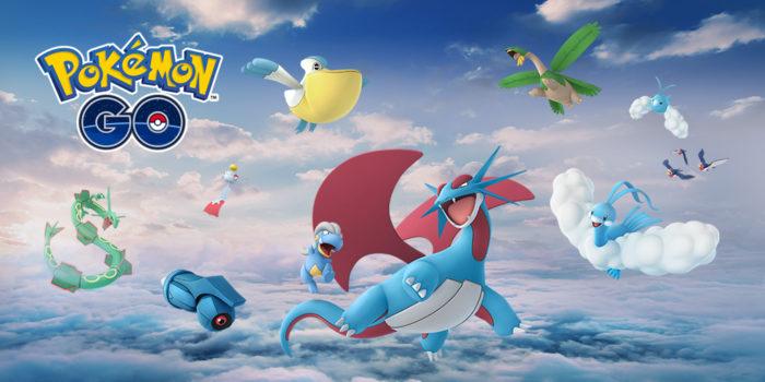 Pokemon GO, rayquaza, Hoenn