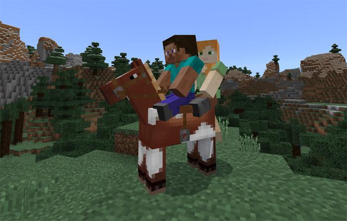 Horse Mod Minecraft