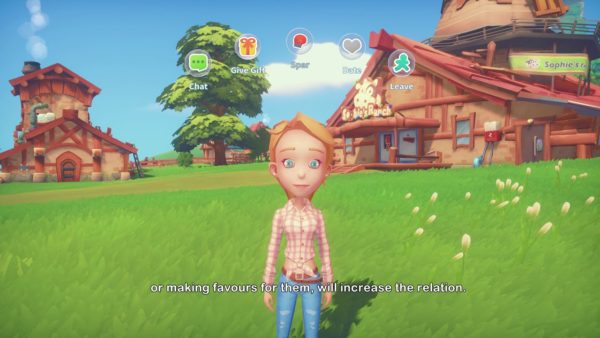 My Time at Portia, how to romance Emily