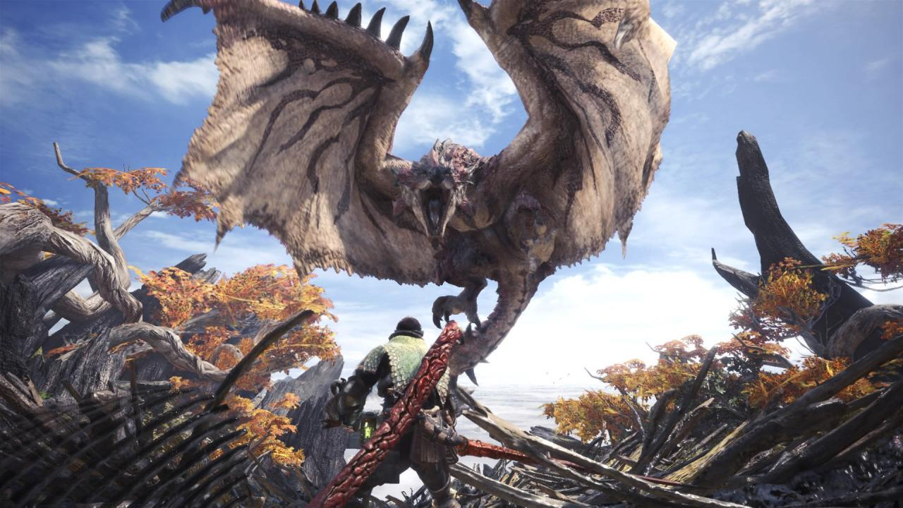monster hunter world, majestic horn