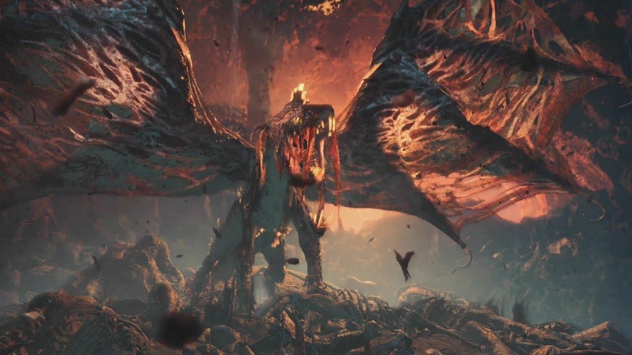 monster hunter world, vaal hazak